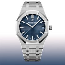 Audemars Piguet Royal Oak Selfwinding Steel 41mm Blue No numerals United States of America, New York, New York