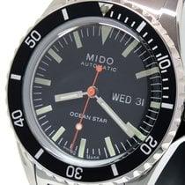 Mido M026.830.11.051.00 Mido Ocean Star 40MM Nero Tribute Special Edition Bracciale Acciaio Maglia Milano Stal 2021 Ocean Star 40,5mm nowość