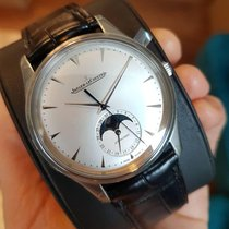 Jaeger-LeCoultre Master Ultra Thin Moon Steel 39mm Silver No numerals United States of America, Iowa, Des Moines