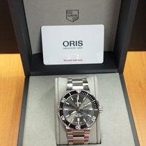 Oris Aquis Titanium Date Titanium 43.5mm Grey