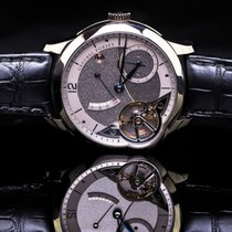 Greubel Forsey new Manual winding White gold Sapphire crystal
