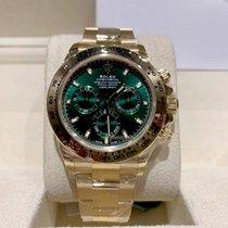 Rolex 116508 Green Geelgoud 2020 Daytona 40mm nieuw