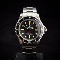 Rolex Sea-Dweller Acél 40mm Fekete Számjegyek nélkül