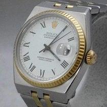 Rolex Datejust Oysterquartz Ocel 36mm Bílá Římské