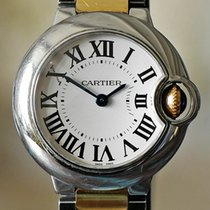 Cartier Ballon Bleu 28mm Gold/Steel Silver Roman numerals United States of America, Missouri, Chesterfield