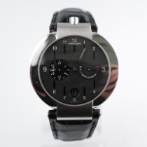 Movado Elliptica Stål 40mm Sort Ingen tal