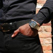 Rolex Oyster Precision Steel 34mm Black No numerals United Kingdom, Macclesfield