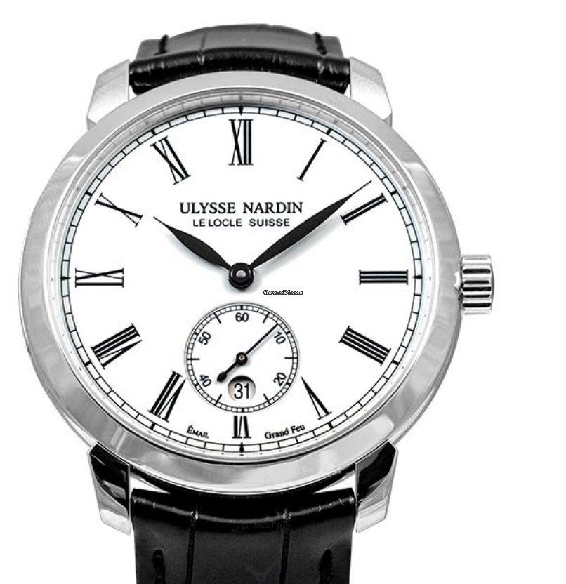 Ulysse Nardin Classico 3203-136-2/E0-42 2019 new