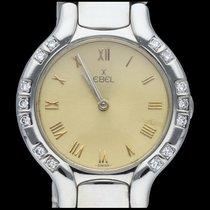 Ebel Beluga Staal 27mm Geel Romeins