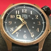 Terra Cielo Mare Bronze 44mm Corda manual usado