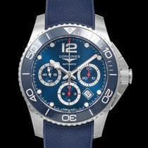 Longines Ceramic Automatic Blue 43mm new HydroConquest