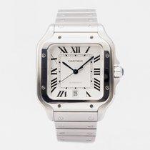 Cartier Santos (submodel) новые 2019 Автоподзавод Часы с оригинальными документами и коробкой WSSA0009           4072