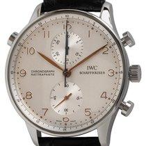 IWC Portuguese Chronograph Steel 41mm Silver Arabic numerals United States of America, Texas, Austin