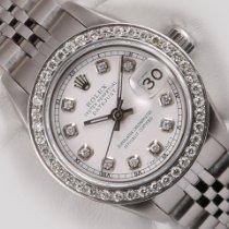 Rolex Lady-Datejust Acier 26mm Blanc