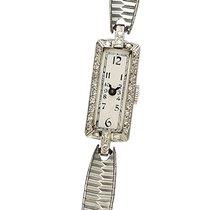 Elgin Platinum Manual winding Silver Arabic numerals