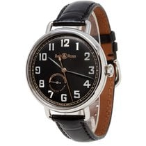 Bell & Ross Steel 45mm Automatic BRWW197-HER-ST/SCR new