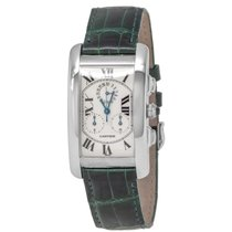 Cartier Tank Américaine White gold 45mm Silver Roman numerals United States of America, New York, Hartsdale