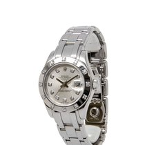 Rolex Lady-Datejust Pearlmaster White gold 29mm Silver United States of America, New York, Hartsdale