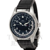 IWC Pilot Worldtimer IW326201 New Steel 45mm Automatic United States of America, New York, Hartsdale