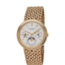 Patek Philippe 3945/2J Yellow gold 1986 Perpetual Calendar 36mm pre-owned United States of America, New York, Hartsdale