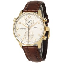 IWC Yellow gold 41mm Manual winding IW3712-03 pre-owned United States of America, New York, Hartsdale