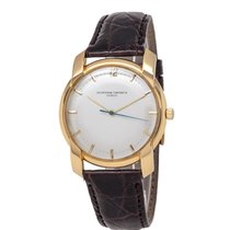 Vacheron Constantin Yellow gold Manual winding Silver 38mm pre-owned