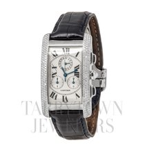 Cartier Tank Américaine Very good White gold 45mm Quartz United States of America, New York, Hartsdale