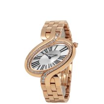 Cartier Délices de Cartier Rose gold 28mm Silver Roman numerals United States of America, New York, Hartsdale