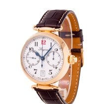 Longines Rose gold Automatic White 40mm pre-owned