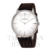 Vacheron Constantin Patrimony White gold 40mm Silver United States of America, New York, Hartsdale