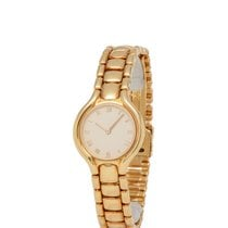 Ebel Beluga Yellow gold 24mm Champagne Roman numerals United States of America, New York, Hartsdale