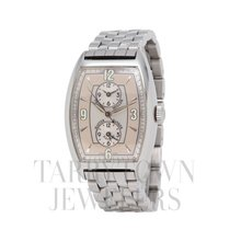 Franck Muller Master Banker Steel 43mm Silver Arabic numerals United States of America, New York, Hartsdale