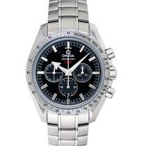 Omega Speedmaster Broad Arrow nuevo Automático Reloj con estuche y documentos originales 321.10.42.50.01.001