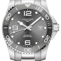 Longines HydroConquest Steel 43mm Grey Arabic numerals