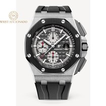 愛彼 Royal Oak Offshore Chronograph 鈦 44mm 灰色 無數字
