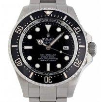 Rolex Sea-Dweller Deepsea Stahl 44mm Schwarz Keine Ziffern Schweiz, Lugano