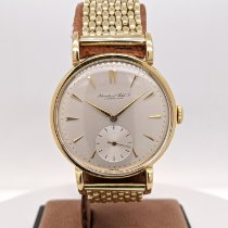 IWC Yellow gold Manual winding Champagne No numerals 35mm pre-owned