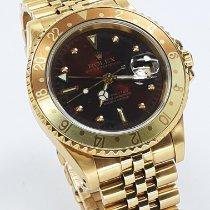 Rolex GMT-Master Yellow gold 40mm Purple No numerals
