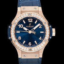 Hublot Rose gold 38mm Quartz 361.PX.7180.LR.1204 new