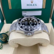 Rolex Submariner (No Date) Сталь 40mm Черный Без цифр
