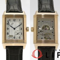 Jaeger-LeCoultre Or rose Remontage manuel Argent 47mm occasion Reverso Grande Date