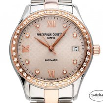 Frederique Constant FC-303LGD3BD2B Gold/Steel Ladies Automatic 36mm new