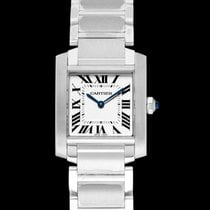 Cartier Tank Française Steel 25mm Silver United States of America, California, San Mateo