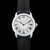 Cartier Ronde Croisière de Cartier Steel 29mm Red United States of America, California, San Mateo