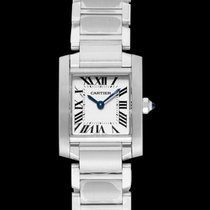 Cartier Tank Française Steel 20mm Silver United States of America, California, San Mateo