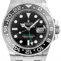 Rolex Acier Remontage automatique Noir 40mm GMT-Master II