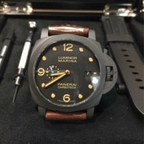 Panerai Luminor Marina 1950 3 Days Automatic Carbon 44mm Black Arabic numerals United States of America, Iowa, Des Moines