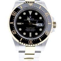 Rolex Sea-Dweller Золото/Cталь 43mm Черный