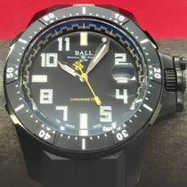 Ball Engineer Hydrocarbon pre-owned 42mm Black Rubber
