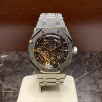 Audemars Piguet Royal Oak Double Balance Wheel Openworked Acier 41mm Transparent Sans chiffres